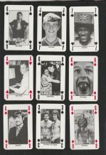 Collectible  Playing Cards 90 minutes. 52 different famous footballers